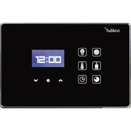 Tulikivi juhtpaneel Touch Screen, must või valge