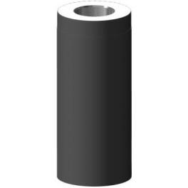 Saunakorsten Ø115mm, Lisa jätk 0,5m, Must